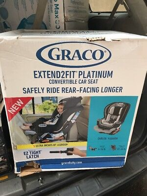 Graco Extend2FitTM Platinum All In One Convertible Car Seat Carlen