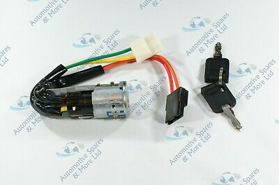 Renault Trafic 01-14 New Ignition Steering Lock Barrel Contact Switch & 2 Keys