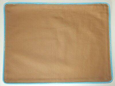 Brand new super leather Johnathan Adler cushion covers 16 x 12 inches rrp £120