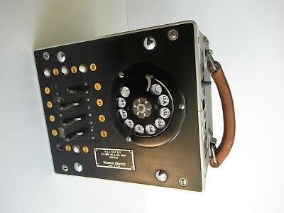 Antique Western Electric telephone PBX switching line tester Switching equipment
