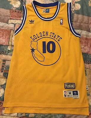 4b4030d2ef9 ... reduced adidas hardcourt classics tim hardaway golden state warriors 10  jersey sz m 8d2a4 5cfc8