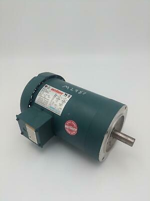 Leeson 1.5 HP, 1750/1450 RPM, 145TC Frame Electrical Motor
