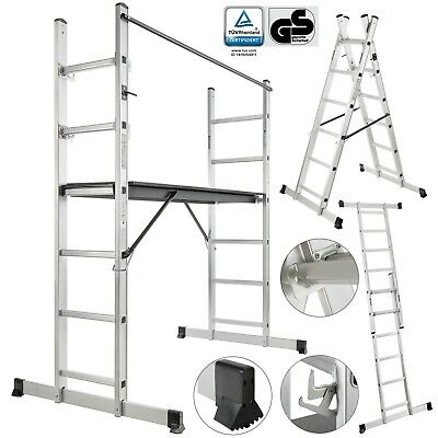 Working Ladder/scaffold Tower Working Platform Aluminium/wood step ladder