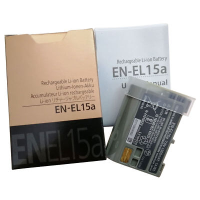 EN-EL15A EN-EL15 Battery For Nikon D7100 D750 D610 D7500 D7200 D800 D810 MH-25