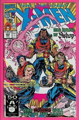 The Uncanny X-Men #282 9.0 VF/NM Marvel Comics 1st appearance BISHOP