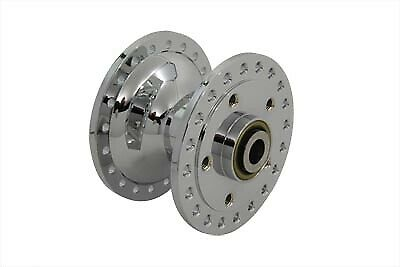 Chrome Front Wheel Hub,for Harley Davidson,by V-Twin