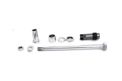 Chrome Rear Axle Kit,for Harley Davidson,by V-Twin