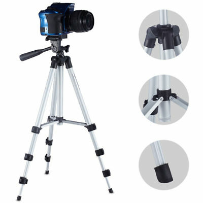 Professional Camera Tripod Stand Holder with Ball Head +Bag fit DSLR Canon Nikon