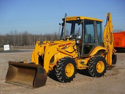 1998 JCB 212S Series II Backhoe Loader with only 5185 Hours