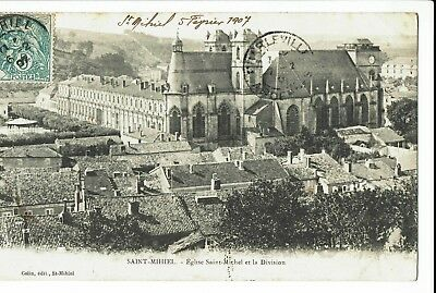 CPA-Carte postale-FRANCE - Saint-Michel - Son Eglise -1907 S321