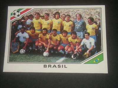 Football Soccer Champions Stickers Panini Mexico 86 Zico Team Brasile New-Max