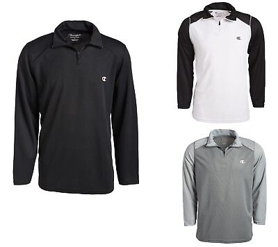 Champion Men's 1/4 Zip Jacket Light Weight Athletic Jacket Pullover All Sizes