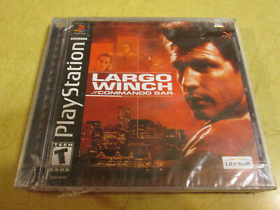 NEW PLAYSTATION GAME   LARGO WINCH   read description before buying