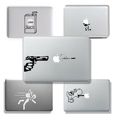"Pegatina Vinilo Para Macbook Air, Pro 11"" 13"" 15"" Sticker Decorativo - 5 Diseños"