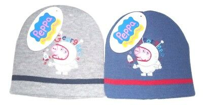 fe95d9b47a4 PEPPA PIG BEANIE Hat And Mitts Set Outdoor Fun Peppa Theme LAST TWO ...