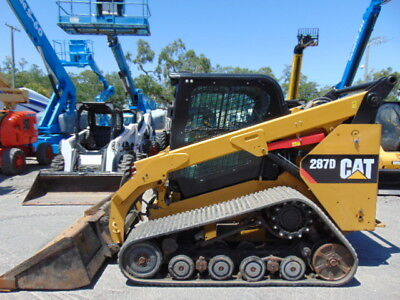 "2014 Cat 287D Turbo 2 Spd Asv Wide Track ""super Loaded"" Cold A/c Cab - Hyd Coupl"