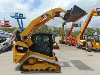 "2012 Cat 289C-2 Speed Turbo ""high Flow"" Cold A/c - Wide New Tracks - Hyd Coupler"