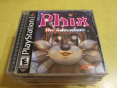 NEW PLAYSTATION GAME  PHIX ADVENTURE   read description before buying