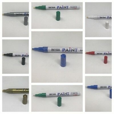 Universal Waterproof Permanent Paint Pen Oil Marker for Car Tyres Arts & Crafts