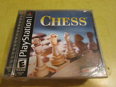 NEW PLAYSTATION GAME CHESS   read description before buying