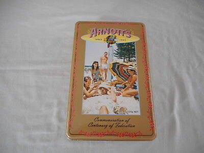 Arnott's Commemoration of Centenary of Federation Biscuit Tin