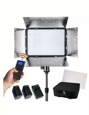 LED Video Lighting - Dimmable Bi Color Continuous Studio Light Panel