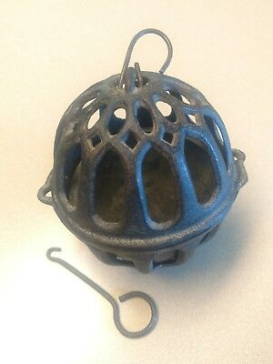 Vintage Antique Cast Iron String Twine Holder c. 1880's wow! Old! General Store