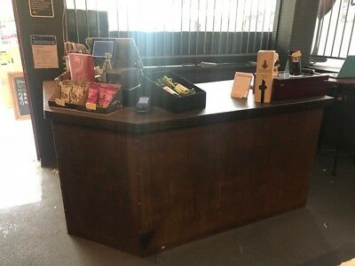 Core 10 steel L shaped Service Counter