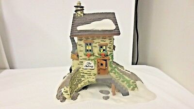Dept 56 Heritage Village Dickens' Village Series The Maltings-Hand Painted-Boxed