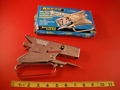 "Arrow P35S Stapler Plier Type Steel 2 1/2"" Reach Heavy Duty 1/4 or 3/8 Staples"