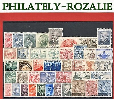 Czechoslovakia  Stamps ** Mnh ** Year  1945 - 1952 Mix Stamps