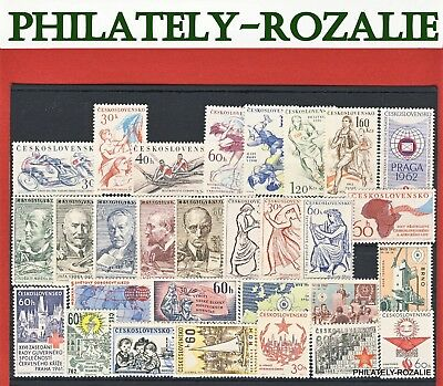Czechoslovakia  Stamps ** Mnh ** Year  1961 - 1963 Mix Stamps