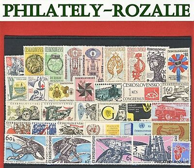 Czechoslovakia  Stamps ** Mnh ** Year  1963 - 1965 Mix Stamps