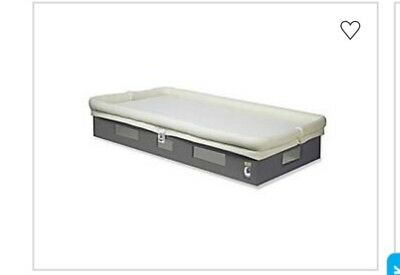 Baby breathable crib mattress Espresso/Ivory
