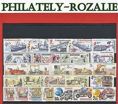 Czechoslovakia  Stamps ** Mnh ** Year  1988 - 1989 Mix Stamps
