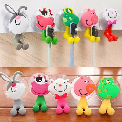Toothbrush Holder ~ Kids/Family ~ Novelty Animal Suction Cup Tooth Brush Holder