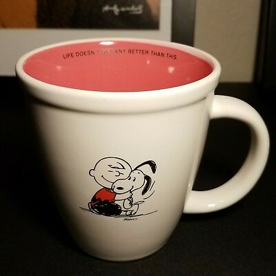 Hallmark Peanuts Charlie Brown Snoopy Life Doesn't Get Any Better Than This Mug
