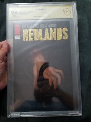 Redlands #1 Gold Foil Exclusive CBCS 9.6 signed by Vanesa Del Rey