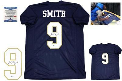 16664b563 Jaylon Smith Autographed SIGNED Jersey with Photo - Beckett Authentic -  College