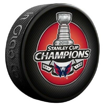 2018 Stanley Cup Final Champions Puck Washington Capitals Champ Collectible