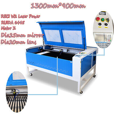 RECI 100W CO2 Laser Cutting and Engraver Machine With CE FDA 700mm*500mm