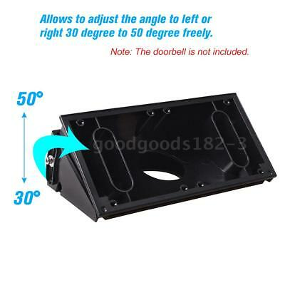 Adjustable Angle (30 to 50 degree freely) Doorbell Mount Bracket for Ring O1H8