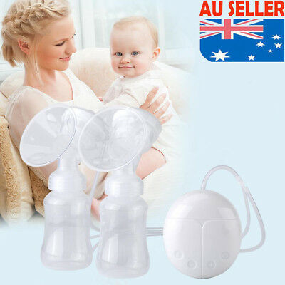 USB Double Electric Breast Suction Enlarger Pump Breastpump Mom Milk Extractor