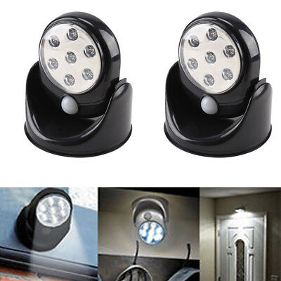 Motion Activated Cordless Sensor LED Light Indoor/Outdoor 360° Rotatable Home
