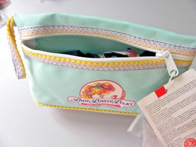 Vintage Lady Lovely Locks and the Pixietails  pencil case   XX rare '80s  NOS