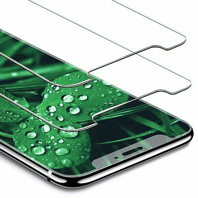 2 Pack iPHONE X Tempered Glass Screen Protector 3D Touch Clear Screen Cover