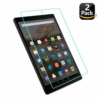 7th Generation All New HD 10 Tablet Tempered Glass Screen Protector Anti-Scratch
