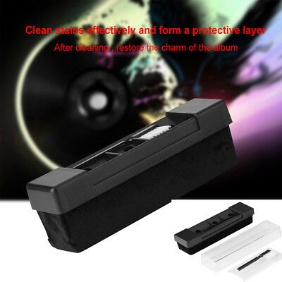 Portable Antistatic Dust Spots Cleaner Vinyl Record Clean Cleaning Brush Tool