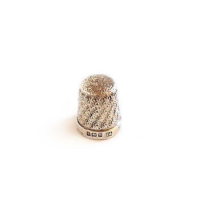 SOLD SILVER THIMBLE BIRMINGHAM 1926 by HENRY GRIFFITH & SONS - SIZE 14