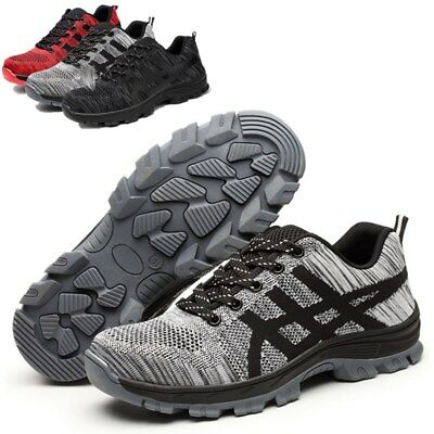 Safetoe CE Mens Leather Waterproof Safety Shoes Composite Toecap Work Hiker